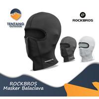 Masker Balaclava ROCKBROS LF8064 Breathable Bike Motor Face Mask - Hitam