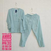 Baju Tidur Rayon AMRO Lengan dan Celana Panjang (PPR)