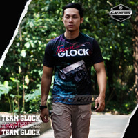 KAOS TNI TEAM GLOCK T-SHIRT ARMY SUBLIME JERSEY BANDUNG #1