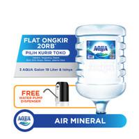 AQUA Air Mineral 19L (3 Galon) FREE Water Dispenser
