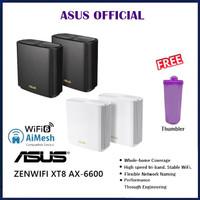ASUS ZenWiFi AX-6600 Whole-Home Tri-Band Mesh WiFi 6 System XT8