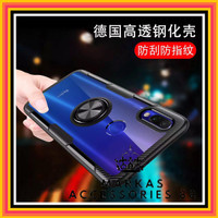 XIAOMI REDMI NOTE 7 / 7 PRO RING CARBON ARMOR HARD SOFT CASE CLEAR