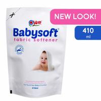 yuri babysoft fabric softener 410ml refill