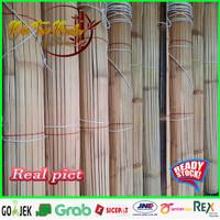 Tirai krey bambu hitam Aten/ati L.2m x T.3m