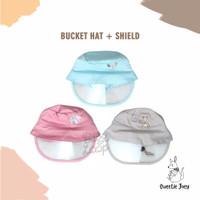 Baby Loop Bucket Hat Face Shield Bayi dan Anak