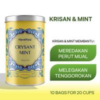 CRYSANTMINT   Big Tin   Haveltea   Floral Tea   Chrysanthemum & Mint