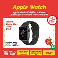 Apple Watch SE 2020 40mm Aluminum Case with Sport Band GPS