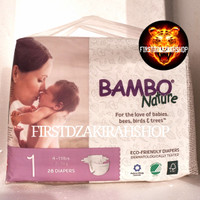 Pampers Bambo nature 28 diapers 1 new born