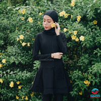 Baju Renang Wanita Dewasa Muslim Muslimah Edora Es Ml Dw - M