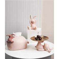 Balloon Rabbit Collection //Tissu box & Tray