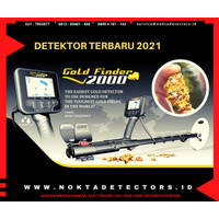 Gold Finder2000 - Detektor Khusus Emas - Nokta - www.noktadetectors.id