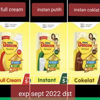 dancow fortigro 800 gr gram full cream instan putih instant coklat