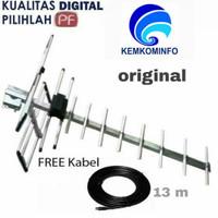 antena digital antena tv outdoor original + kabel 13m