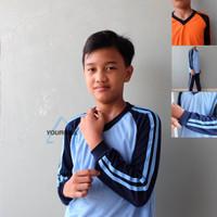 Setelan Kaos Olahraga Anak SD / Seragam Baju Olahraga Anak Sekolah SD