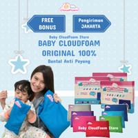 Baby CloudFoam Bantal Bayi Anti Peyang ORI 100% - Free Bonus Spesial
