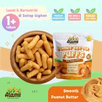 Snack Bayi / Anak - Alamii Peanut Butter Puffs - 30G