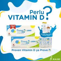 Prove D3 1000 IU / Kalbe Farma / 10 Tablet / 30 tablet / Grosir