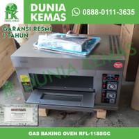 Gas Baking Oven GETRA RFL-11SSGC / RFL-11SS / RFL 11 SS GARANSI RESMI - Oven Getra
