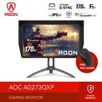 "AOC AG273QXP G-SYNC Compatible Gaming Monitor (27""/Nano IPS/1ms/170Hz)"