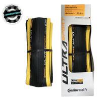Ban Luar Continental Ultrasport III 3 list kuning Black Yellow Gumwal