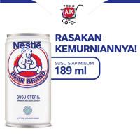 Bear Brand Susu Beruang Nestle 189 ml - [Minimal 1 Dus=30 pcs]
