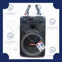 Asatron HT-8881 UKM Speaker Portabel 15 Inch