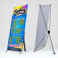 cerak Y banner albatros 60x160 indoor hd sudah termasuk rangka