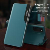 Casing Samsung Galaxy S20 FE Smart Leather Flipcase Cover Flip Case