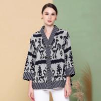 blouse batik atasan wanita ethnic tenun blanket list lurik