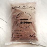 Beras Merah Pulen - Organik - Kemasan 2kg