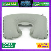 Bantal Leher Angin Portable for Traveling / Bantal Tidur pesawat