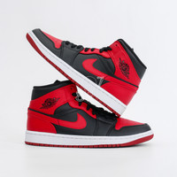 Air Jordan 1 Mid Banned 100% Authentic