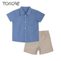 Torio Smart Casual Outwear Set - Baju Setelan Bayi Laki-Laki