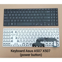 KEYBOARD LAPTOP ASUS A507, X507 (Integrated Power Button)