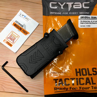 holster pistol magazin single cytac
