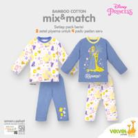 Bamboo Cotton Mix & Match Disney Original Rapunzel Girls Series