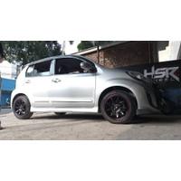 Paket Velg Ban Murah Suzuki Swift R16 HSR TIKALA + 195/50R16 FORCEUM