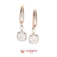 Anting Berlian 3377 ER Zamrud Jewellery