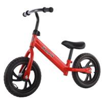 Balance bike / Push bike / Sepeda Anak Sepeda tanpa pedal - Merah
