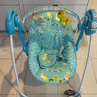Bouncer Baby Elle BabyElle Swing Automatic / Ayunan Bayi Elektrik