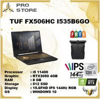 Asus TUF FX506HC I535B6GO i5 11400 8GB 512ssd RTX3050 4GB W10+OHS