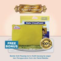 Bantal Anti Peyang Baby CloudFoam Royal Premium Original