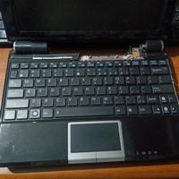 Keyboard laptop bekas Asus Eeepc original pretelan