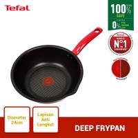 Tefal So Chef Deep Frypan 24cm Wajan Anti Lengket