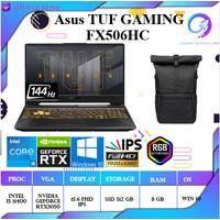 ASUS TUF GAMING F15 FX506HC - I5-11400H 8G 512SSD RTX 3050 OHS 144Hz