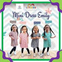 Baju Dress Anak Perempuan Umur 1 2 4 6 Tahun Mini Dress Anak Perempuan