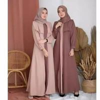 Baju Dress Gamis Wanita Muslim Dewasa Kekinian Murah terbaru