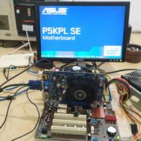 Mobo G31 Motherboard Asus p5kpl offboard VGA murah