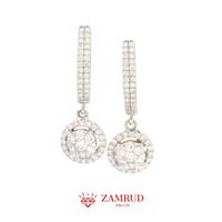 Anting Berlian 1120 ER Zamrud Jewellery