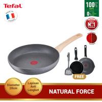Tefal Natural Force Frypan 28cm Premium Cookware / Wajan Anti Lengket